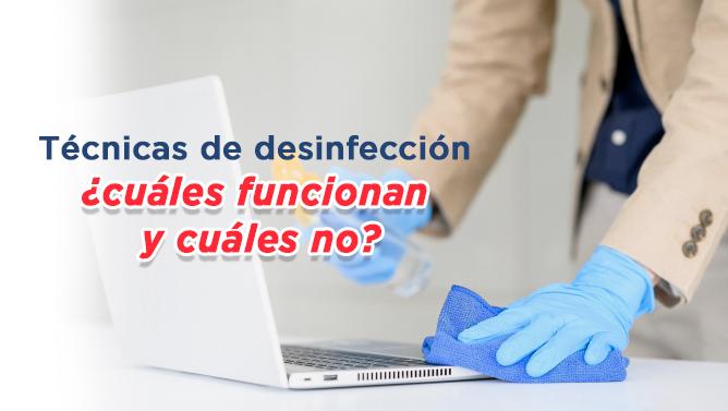 Técnicas de desinfección hospitalaria
